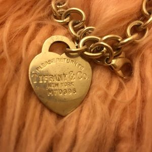 Jewelry - Authentic Tiffany & Co heart bracelet